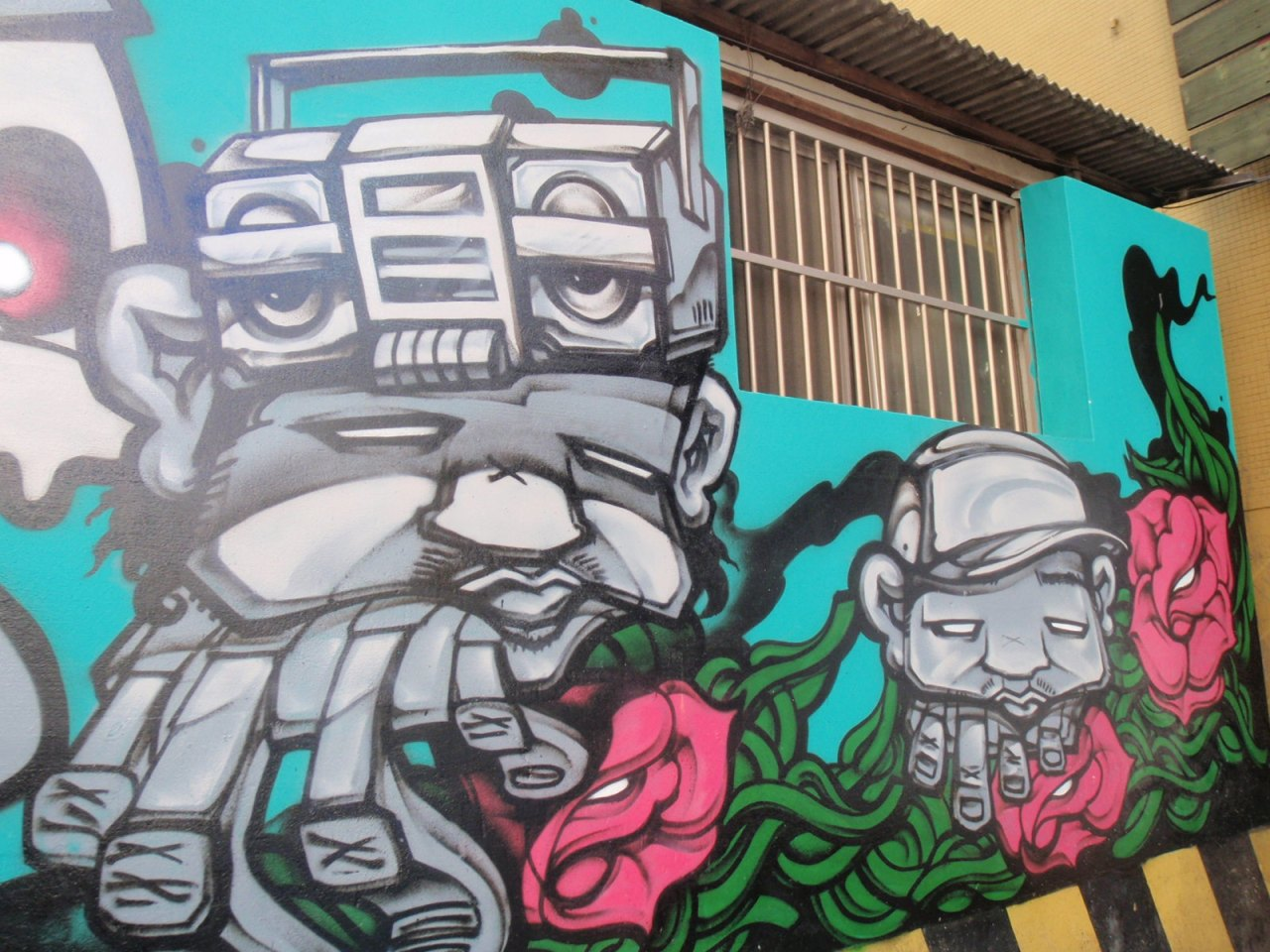 PNU represent – the street art of Busan