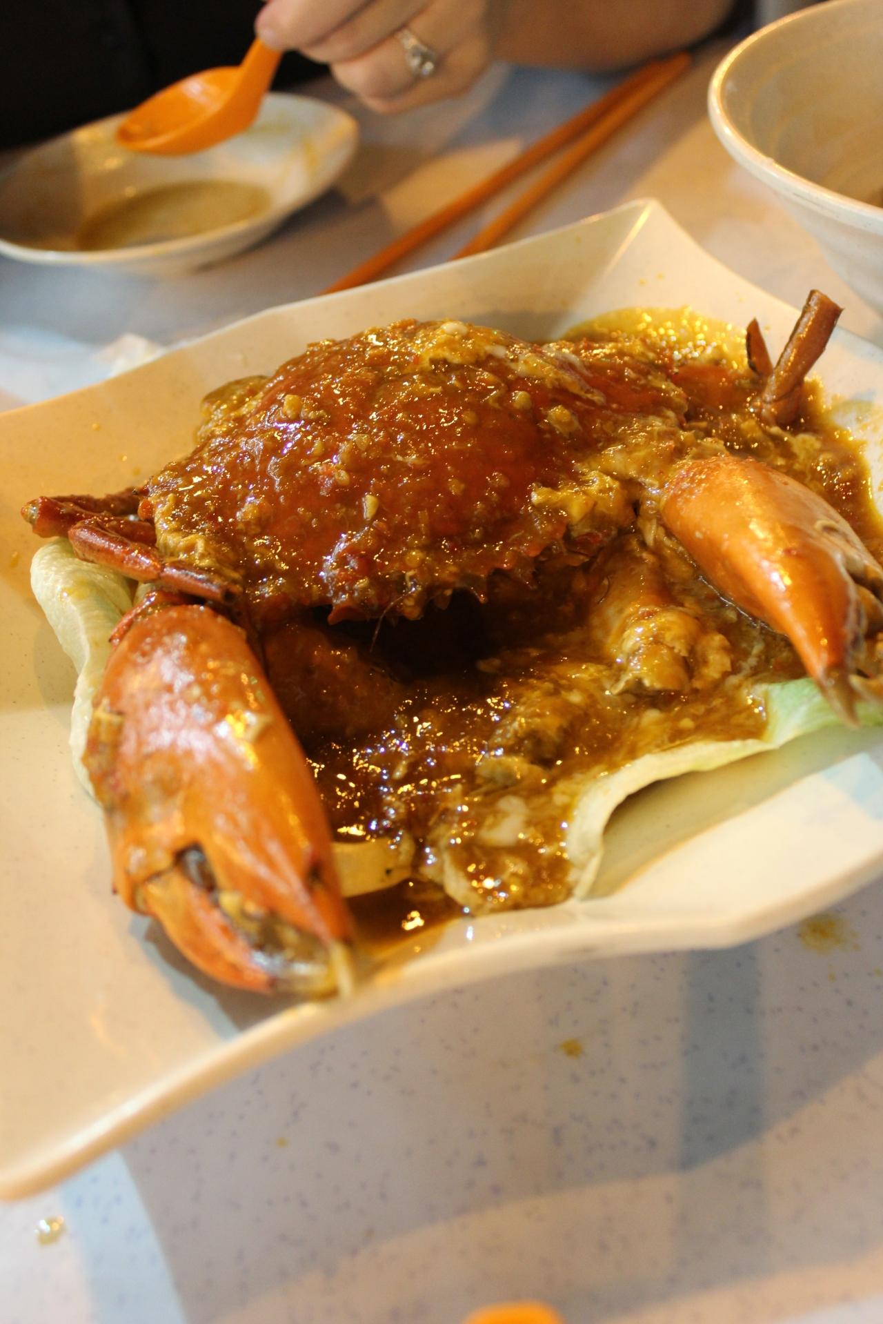 mmmmmmmmmm....chilli crab!!!!