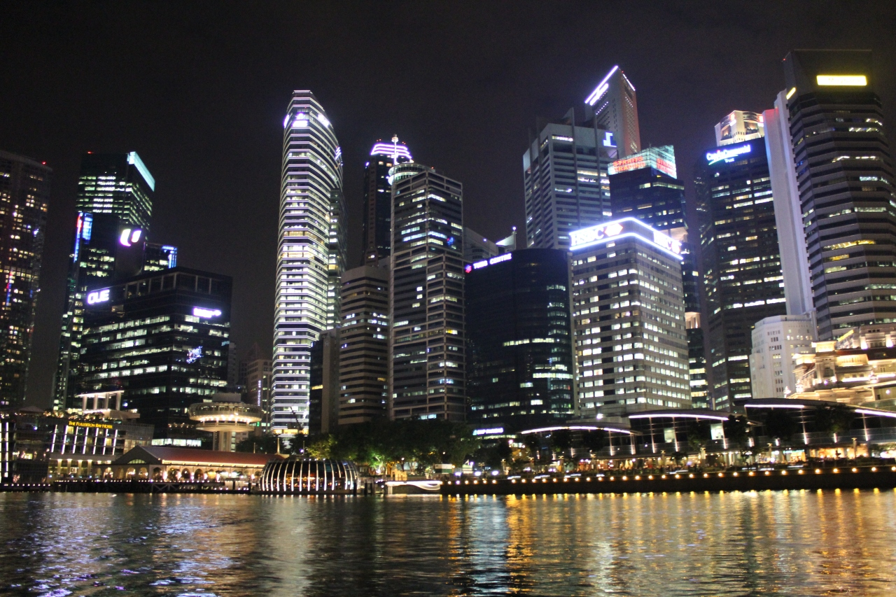 Singapore on the sea